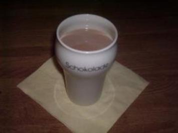 Heiße Rum-Schokolade - Rezept
