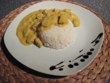 Schweinegeschnetzeltes mit Bananen-Curry - Rezept