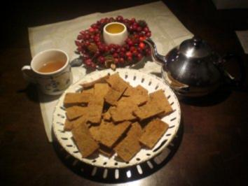 Ginger Shortbread - Rezept