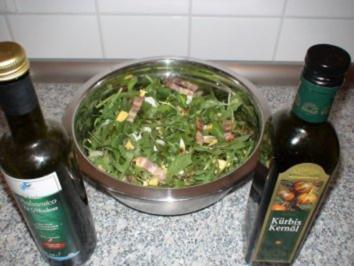Ruccola-Speck Salat - Rezept