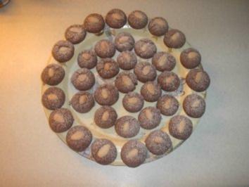 Kakao - Mandel - Kugeln - Rezept