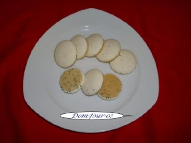 Anisplätzchen mit Fuß und glatter Oberfläche - Rezept