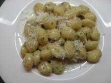 Gnocchi mit Gorgonzolasauce - Rezept