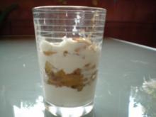 Dessert: Apfel-Quark-Dessert - Rezept