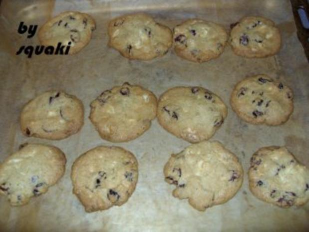 Cookies: Chocolate-Cranberry-Cookies - Rezept - Bild Nr. 5