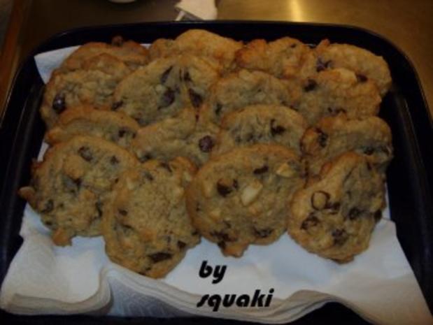Cookies: Macadamia-Marzipan-Cookies - Rezept