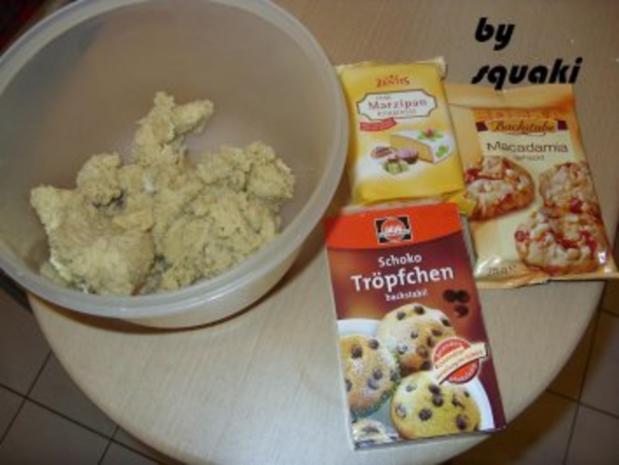 Cookies: Macadamia-Marzipan-Cookies - Rezept - Bild Nr. 2