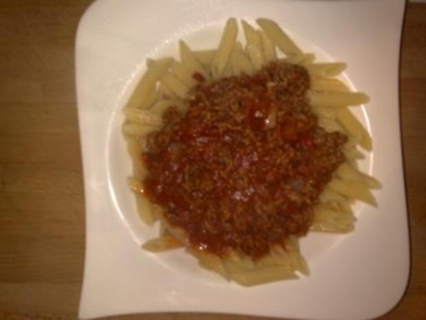 Peters scharfe Bolognese mit Hot Chilli-Lemon-Grass-Sause - Rezept