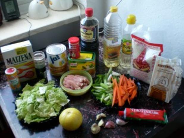 Schweinefleisch Süßsauer - Rezept - Bild Nr. 2