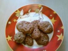Schoko- Cookies - Rezept