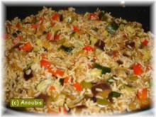 Hauptgericht vegetarisch - Toskanische Reispfanne - Rezept