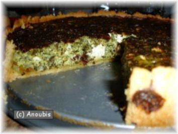 Hauptgericht vegetarisch - Spinat-Tarte - Rezept
