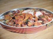 Pilzpfanne mit Hähnchenfilet - Rezept