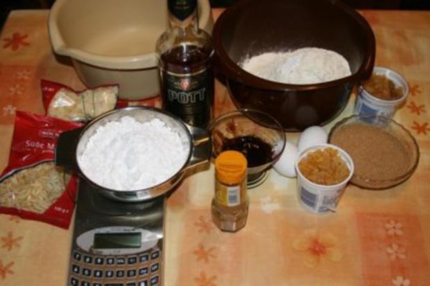 Mandel Brot Weihnachtsplätzchen - Rezept - Bild Nr. 2