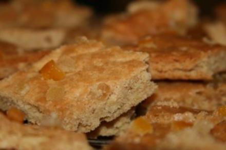 Mandel Brot Weihnachtsplätzchen - Rezept