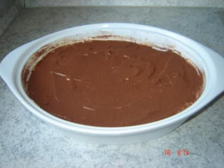 Bananen Schicht- Dessert a la Tiramisu - Rezept
