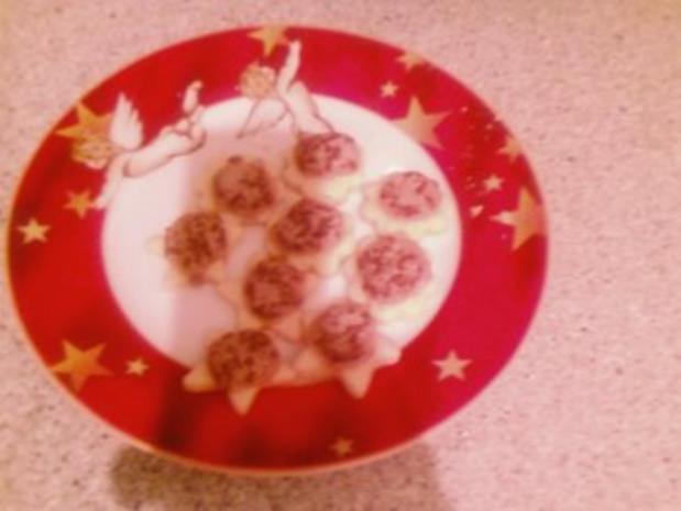 Haselnußplätzchen Tante Lisbeth - Rezept