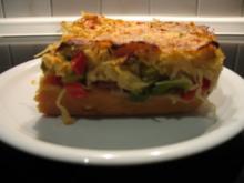 Sauerkraut-Pizza mit Kartoffelteig, deftig... - Rezept