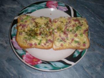 Kleener´s Käse-Toast-Snack - Rezept