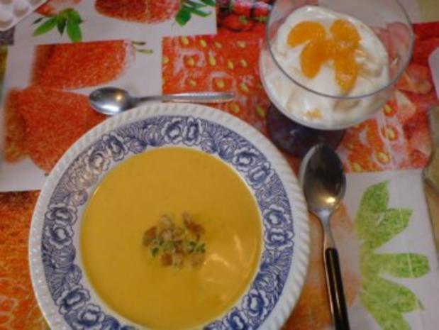 Butternutkürbis-Cremesuppe - Rezept - Bild Nr. 2