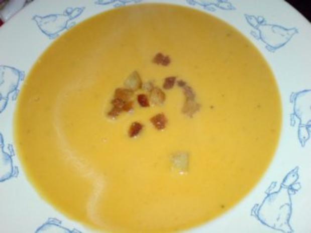 Butternutkürbis-Cremesuppe - Rezept - Bild Nr. 3