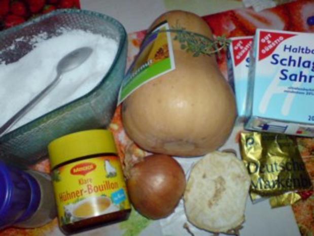 Butternutkürbis-Cremesuppe - Rezept - Bild Nr. 5
