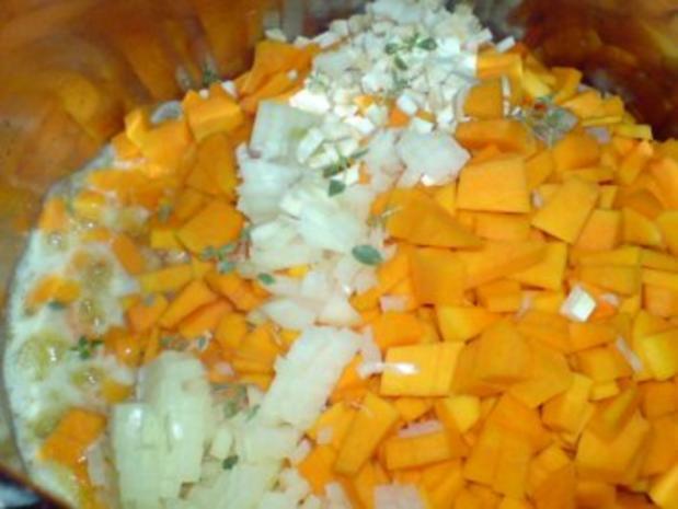 Butternutkürbis-Cremesuppe - Rezept - Bild Nr. 7