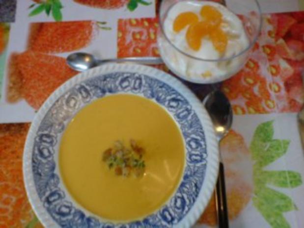 Butternutkürbis-Cremesuppe - Rezept - Bild Nr. 16
