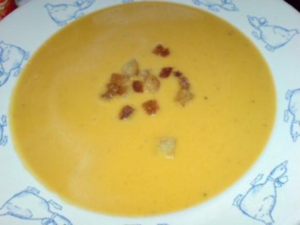 Butternutkürbis-Cremesuppe - Rezept - Bild Nr. 19
