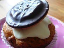 Vanille-soft cake cassis-Muffins - Rezept