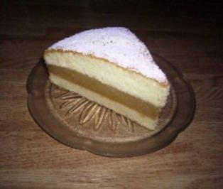 Zimtapfelmus-Kuchen - Rezept