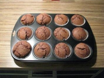 """""""MUFFINS"""" Kokos-Schokoladen-Muffins - Rezept"""