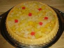 Fruchtcocktail-Torte - Rezept