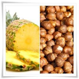 Ananas-Haselnuss-Torte - Rezept