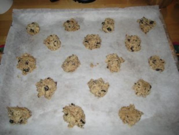 Cookies-Grundrezept mit zwei Variationen: Cranberry + Macadamia - Rezept - Bild Nr. 5