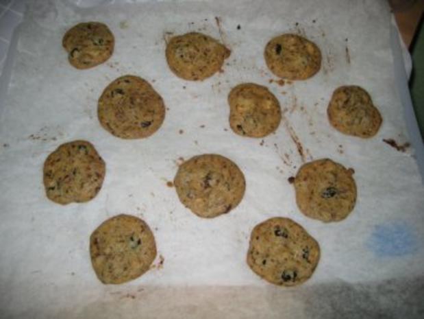 Cookies-Grundrezept mit zwei Variationen: Cranberry + Macadamia - Rezept - Bild Nr. 9