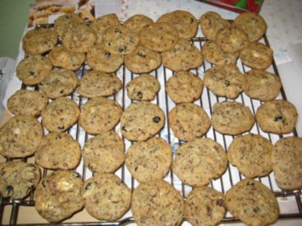 Cookies-Grundrezept mit zwei Variationen: Cranberry + Macadamia - Rezept - Bild Nr. 10