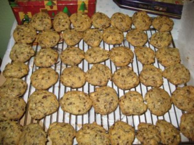 Cookies-Grundrezept mit zwei Variationen: Cranberry + Macadamia - Rezept - Bild Nr. 11