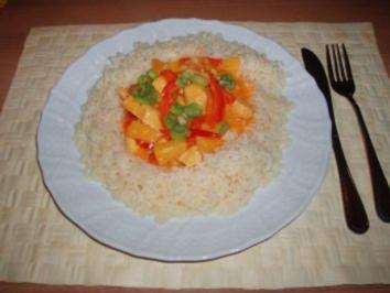 Hähnchen-Curry mit Ananas - Rezept