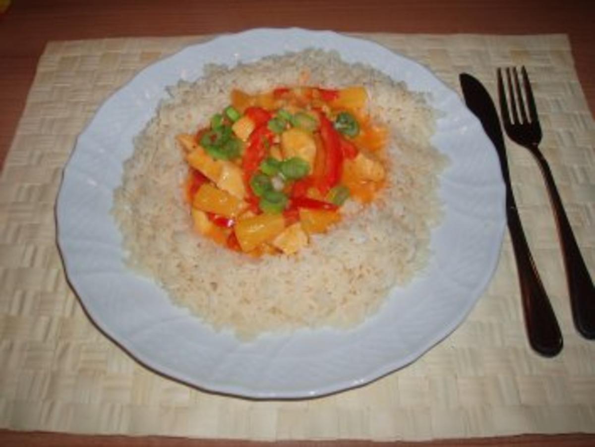 Hähnchen-Curry mit Ananas Rezept Gesendet von Claudia84