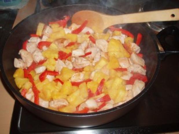 Hähnchen-Curry mit Ananas - Rezept - Bild Nr. 2