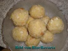 Beilagen: Altbayerische Kartoffelknödel - Rezept