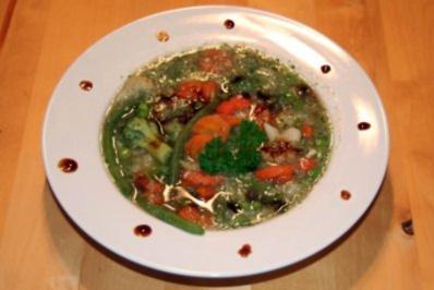 schnelle Gemüsesuppe - Rezept
