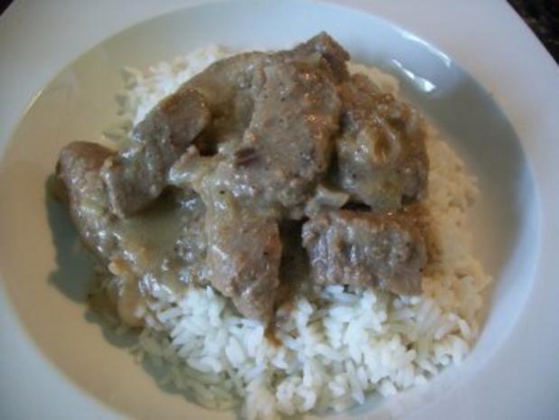 Zwiebelfleisch aus dem Backofen - Rezept - Bild Nr. 4