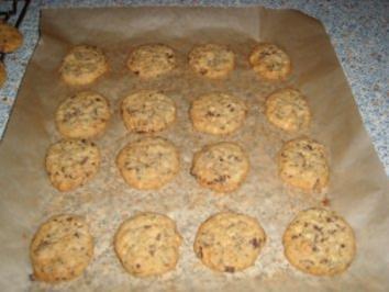 Marzipan-Macadamia-Cookies - Rezept