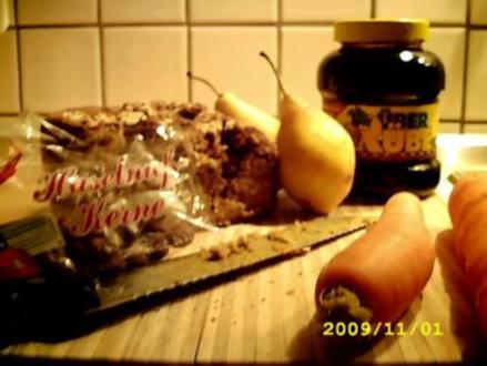 Brot (Brotbackautomat): Maik sein Extrawunsch mit Möhren - Rezept