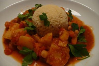 Marokkanischer Couscous - Rezept