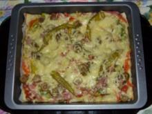 Pizza gleich 2x  a la Linda - Rezept