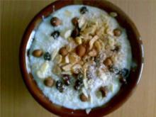 ** Ägyptisch ** Reispudding auf ägyptische Art - Rezept
