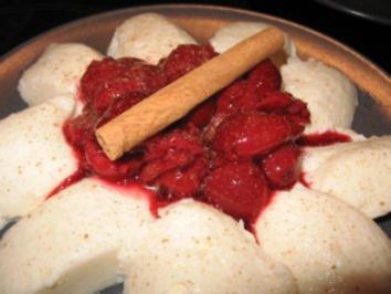 Joghurtmousse mit Kirschkompott - Rezept